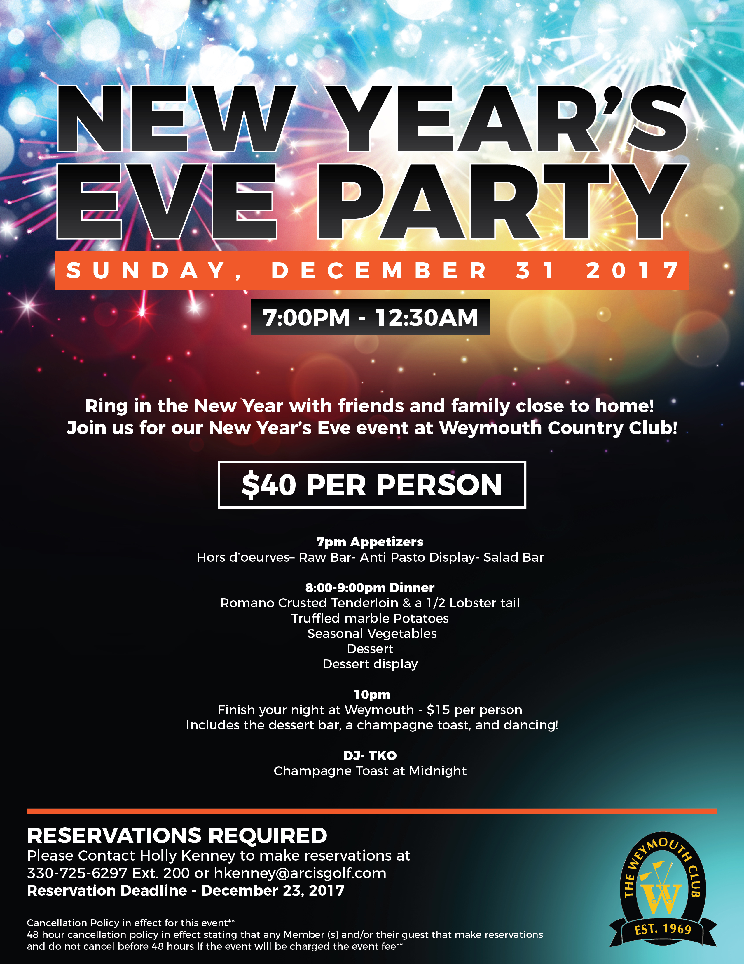 New Years Eve Bash For 2017 12 31